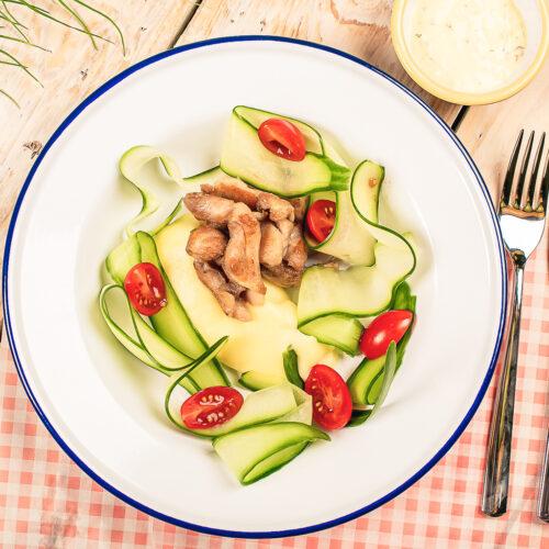 Perekohvik Moosium_menüü_kana ja kartulipuder